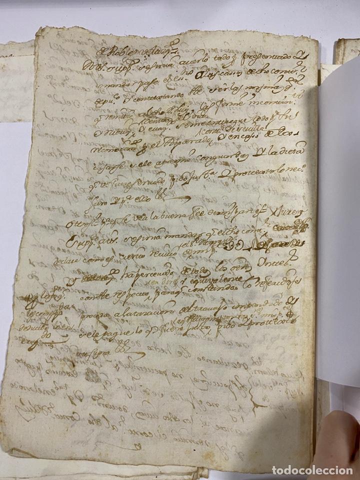 Manuscritos antiguos: CADIZ, 1765. DACIÓN DE BIENES. VARIOS DOCUMENTOS. 2 SELLOS-TIMBRES. VER/LEER - Foto 25 - 243543215