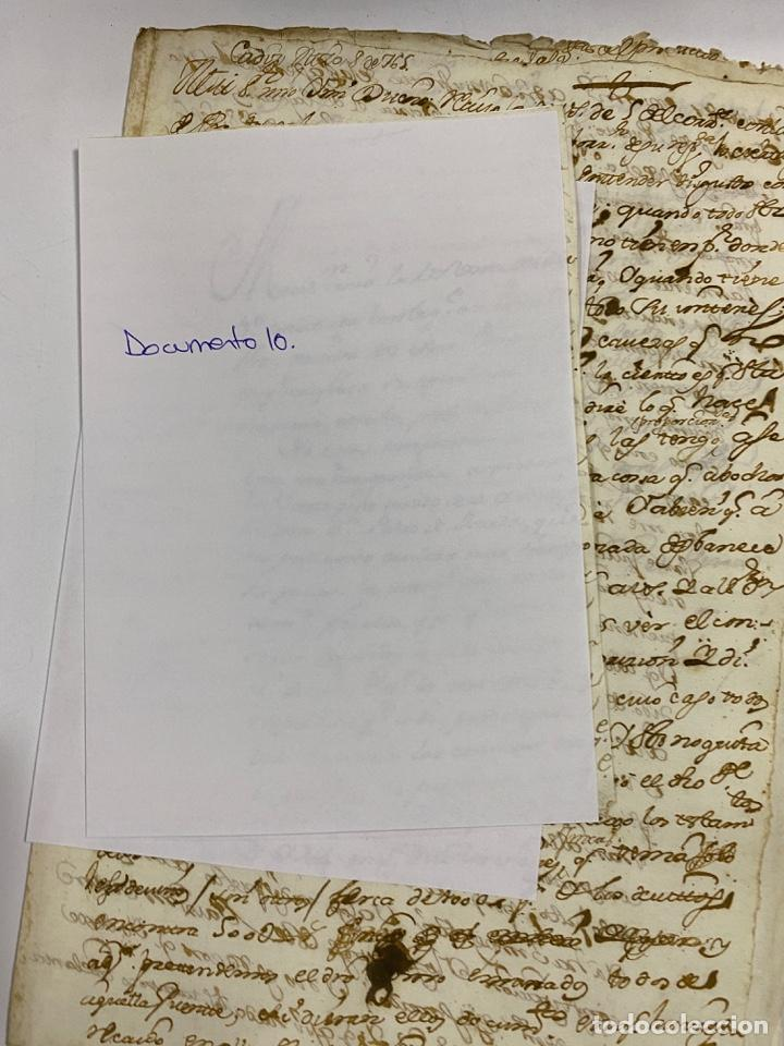 Manuscritos antiguos: CADIZ, 1765. DACIÓN DE BIENES. VARIOS DOCUMENTOS. 2 SELLOS-TIMBRES. VER/LEER - Foto 32 - 243543215