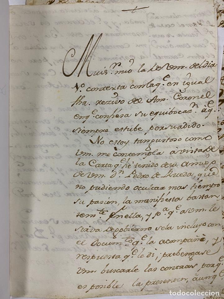 Manuscritos antiguos: CADIZ, 1765. DACIÓN DE BIENES. VARIOS DOCUMENTOS. 2 SELLOS-TIMBRES. VER/LEER - Foto 33 - 243543215