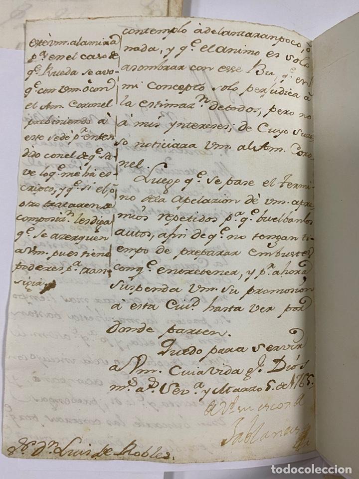 Manuscritos antiguos: CADIZ, 1765. DACIÓN DE BIENES. VARIOS DOCUMENTOS. 2 SELLOS-TIMBRES. VER/LEER - Foto 34 - 243543215