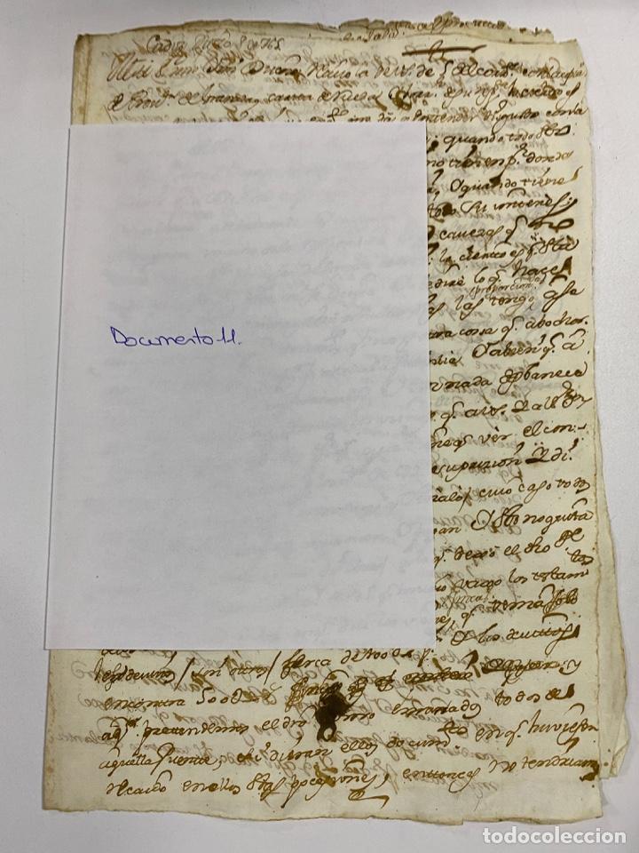 Manuscritos antiguos: CADIZ, 1765. DACIÓN DE BIENES. VARIOS DOCUMENTOS. 2 SELLOS-TIMBRES. VER/LEER - Foto 35 - 243543215