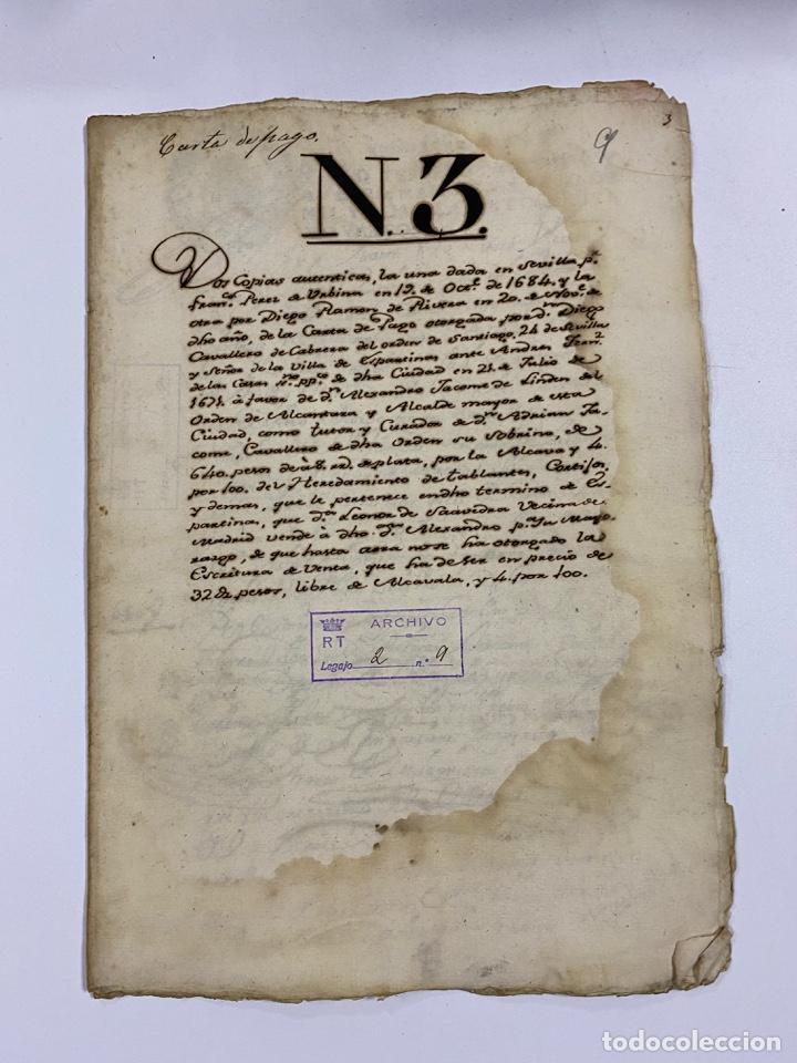 Manuscritos antiguos: CADIZ, 1765. DACIÓN DE BIENES. VARIOS DOCUMENTOS. 2 SELLOS-TIMBRES. VER/LEER - Foto 41 - 243543215