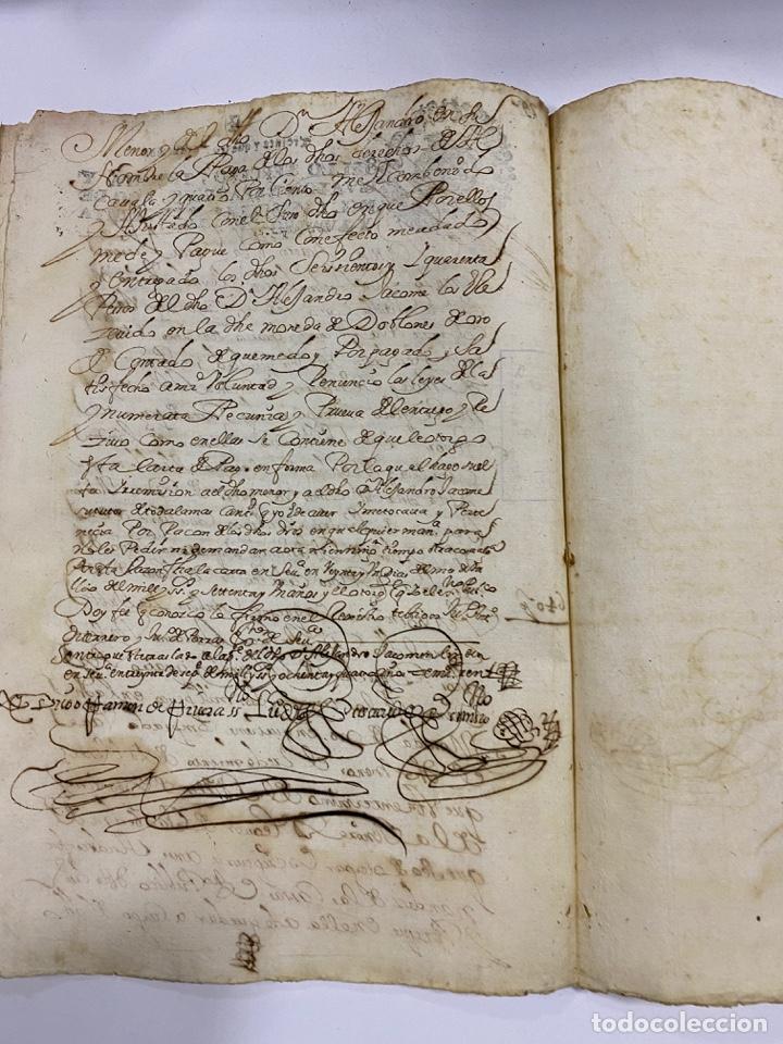 Manuscritos antiguos: CADIZ, 1765. DACIÓN DE BIENES. VARIOS DOCUMENTOS. 2 SELLOS-TIMBRES. VER/LEER - Foto 42 - 243543215