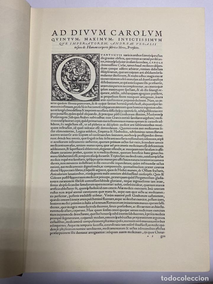 Manuscritos antiguos: HUMANI CORPORIS FABRICA. ANDRE VESALE. FACSIMIL DEL EJEMPLAR Nº 224. VER FOTOS - Foto 5 - 243547935