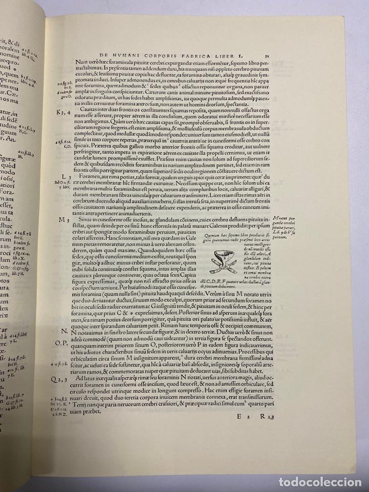 Manuscritos antiguos: HUMANI CORPORIS FABRICA. ANDRE VESALE. FACSIMIL DEL EJEMPLAR Nº 224. VER FOTOS - Foto 10 - 243547935