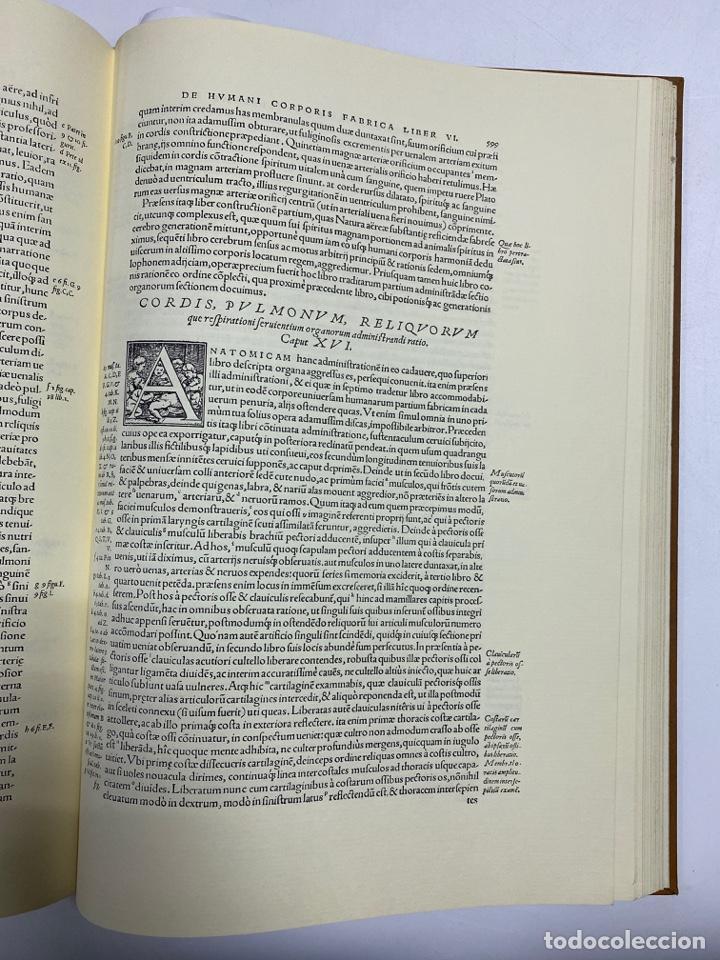 Manuscritos antiguos: HUMANI CORPORIS FABRICA. ANDRE VESALE. FACSIMIL DEL EJEMPLAR Nº 224. VER FOTOS - Foto 24 - 243547935