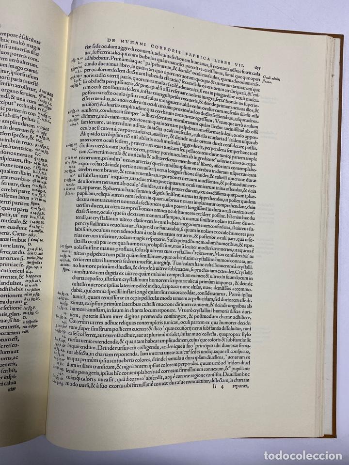 Manuscritos antiguos: HUMANI CORPORIS FABRICA. ANDRE VESALE. FACSIMIL DEL EJEMPLAR Nº 224. VER FOTOS - Foto 26 - 243547935
