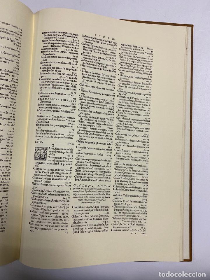 Manuscritos antiguos: HUMANI CORPORIS FABRICA. ANDRE VESALE. FACSIMIL DEL EJEMPLAR Nº 224. VER FOTOS - Foto 32 - 243547935