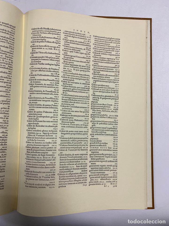 Manuscritos antiguos: HUMANI CORPORIS FABRICA. ANDRE VESALE. FACSIMIL DEL EJEMPLAR Nº 224. VER FOTOS - Foto 33 - 243547935