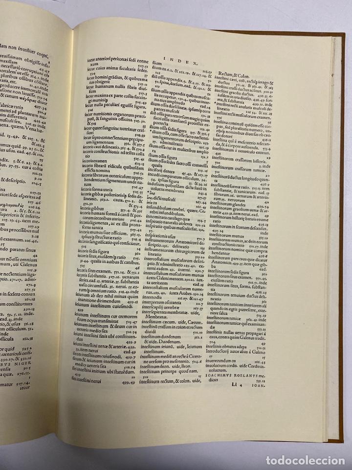 Manuscritos antiguos: HUMANI CORPORIS FABRICA. ANDRE VESALE. FACSIMIL DEL EJEMPLAR Nº 224. VER FOTOS - Foto 34 - 243547935