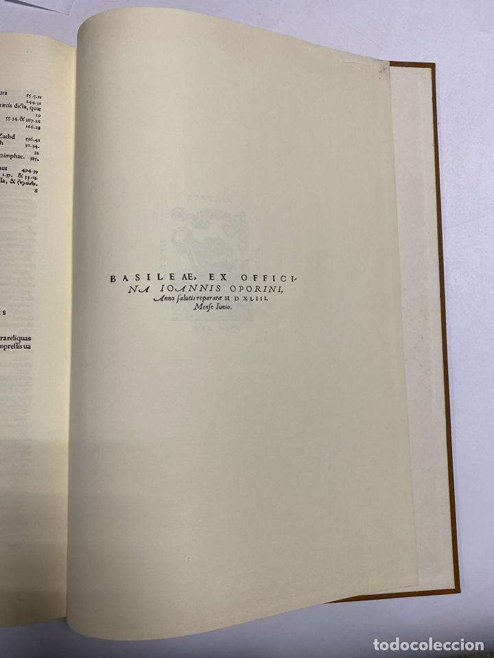 Manuscritos antiguos: HUMANI CORPORIS FABRICA. ANDRE VESALE. FACSIMIL DEL EJEMPLAR Nº 224. VER FOTOS - Foto 35 - 243547935