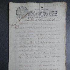 Manuscritos antiguos: MANUSCRITO AÑO 1754 CASALARREINA LA RIOJA VENTA VIÑAS 16 PÁGS. FISCALES 4ºS LUJO. Lote 243627995