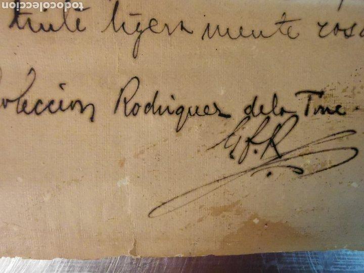 Manuscritos antiguos: Documento del Tríptico en esmalte de Limoges del s.XVI. Las 7 oraciones del padre nuestro. P. Rexmon - Foto 4 - 243687640