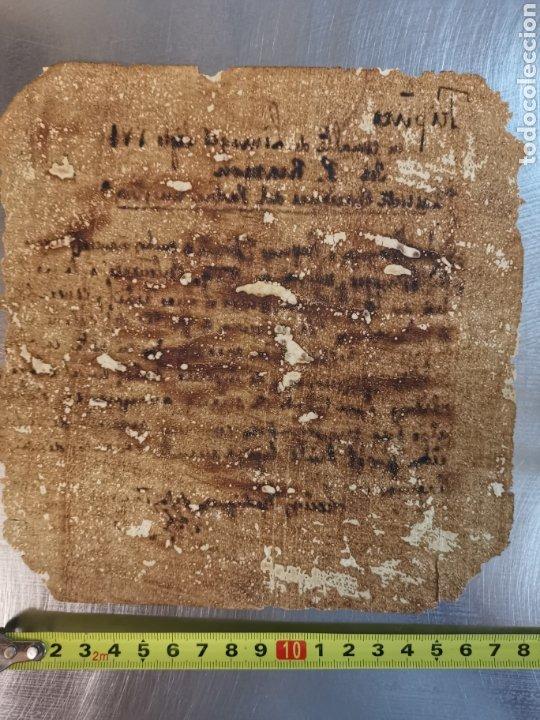 Manuscritos antiguos: Documento del Tríptico en esmalte de Limoges del s.XVI. Las 7 oraciones del padre nuestro. P. Rexmon - Foto 8 - 243687640