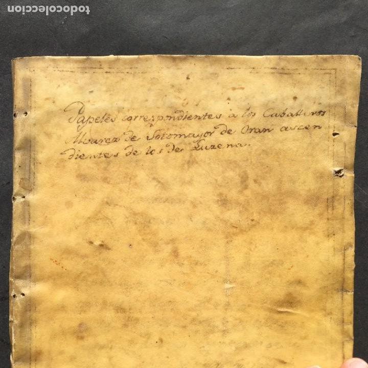 REYES CATÓLICOS - ORÁN - MAZALQUIVIR - HISTORIA - DON JUAN DE AUSTRIA - ÁLVAREZ SOTOMAYOR PERGAMINO (Coleccionismo - Documentos - Manuscritos)