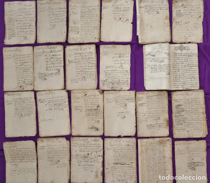 CONJUNTO DE 23 MANUSCRITOS RELATIVOS A LA COMPRA-VENTA DE INMUEBLES. SIGLOS XVI-XIX. (Coleccionismo - Documentos - Manuscritos)