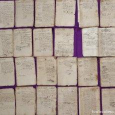 Manuscritos antiguos: CONJUNTO DE 23 MANUSCRITOS RELATIVOS A LA COMPRA-VENTA DE INMUEBLES. SIGLOS XVI-XIX.. Lote 244764245