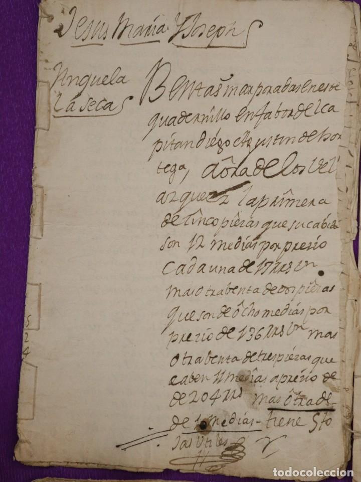 Manuscritos antiguos: Conjunto de 23 manuscritos relativos a la compra-venta de inmuebles. Siglos XVI-XIX. - Foto 10 - 244764245