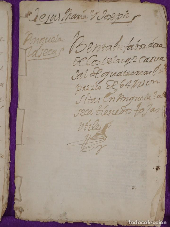 Manuscritos antiguos: Conjunto de 23 manuscritos relativos a la compra-venta de inmuebles. Siglos XVI-XIX. - Foto 12 - 244764245