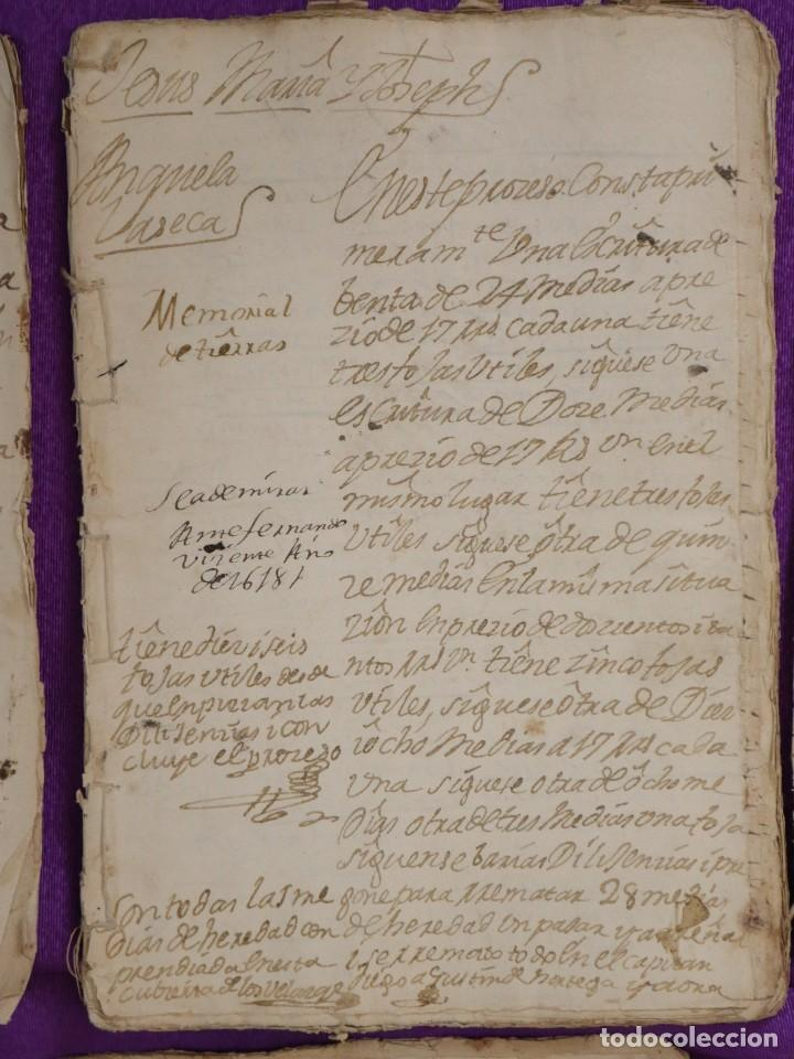 Manuscritos antiguos: Conjunto de 23 manuscritos relativos a la compra-venta de inmuebles. Siglos XVI-XIX. - Foto 16 - 244764245