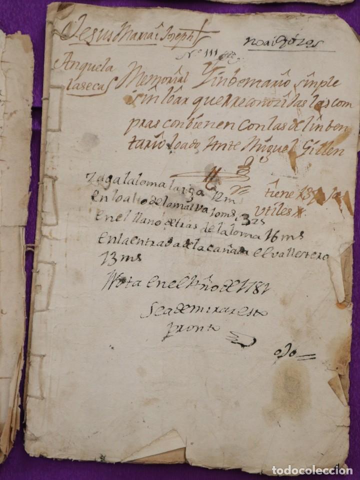 Manuscritos antiguos: Conjunto de 23 manuscritos relativos a la compra-venta de inmuebles. Siglos XVI-XIX. - Foto 19 - 244764245