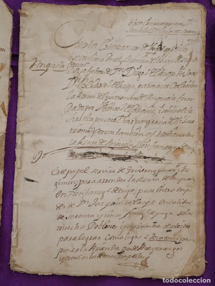 Manuscritos antiguos: Conjunto de 23 manuscritos relativos a la compra-venta de inmuebles. Siglos XVI-XIX. - Foto 20 - 244764245