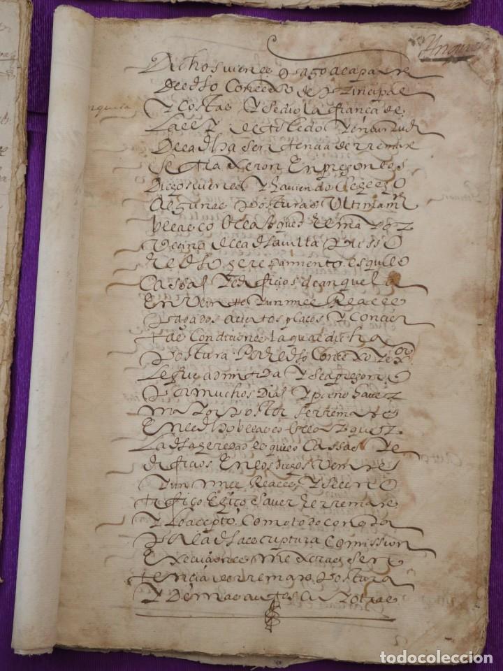 Manuscritos antiguos: Conjunto de 23 manuscritos relativos a la compra-venta de inmuebles. Siglos XVI-XIX. - Foto 24 - 244764245