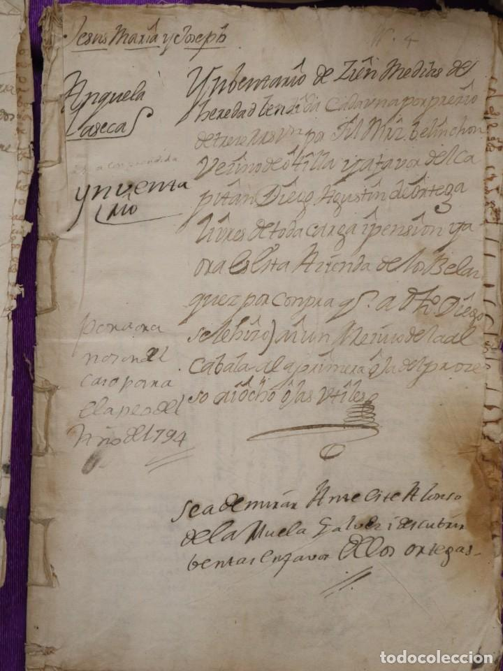 Manuscritos antiguos: Conjunto de 23 manuscritos relativos a la compra-venta de inmuebles. Siglos XVI-XIX. - Foto 25 - 244764245