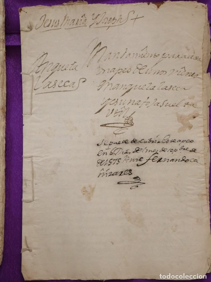 Manuscritos antiguos: Conjunto de 23 manuscritos relativos a la compra-venta de inmuebles. Siglos XVI-XIX. - Foto 26 - 244764245