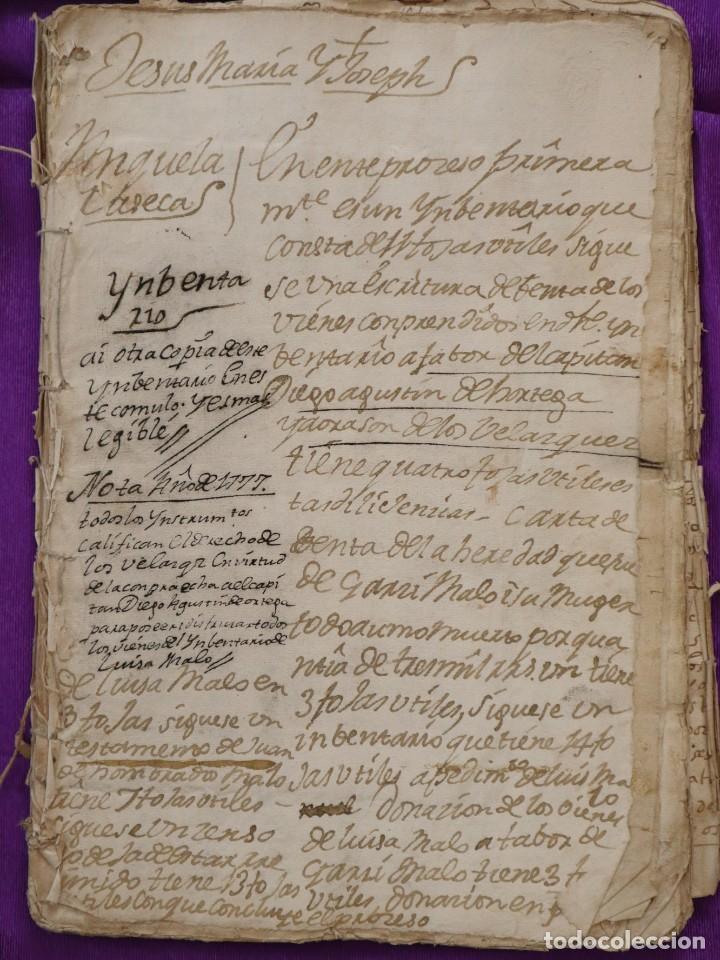 Manuscritos antiguos: Conjunto de 23 manuscritos relativos a la compra-venta de inmuebles. Siglos XVI-XIX. - Foto 27 - 244764245