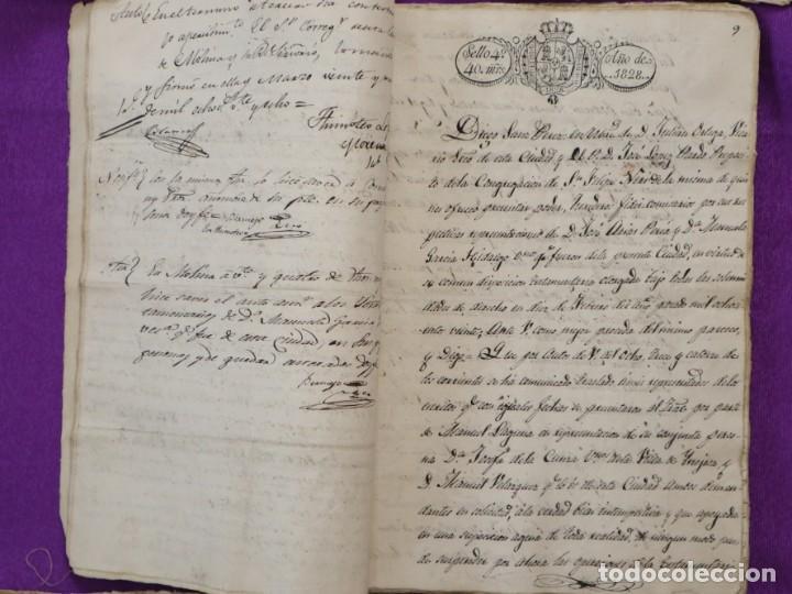 Manuscritos antiguos: Conjunto de 23 manuscritos relativos a la compra-venta de inmuebles. Siglos XVI-XIX. - Foto 28 - 244764245