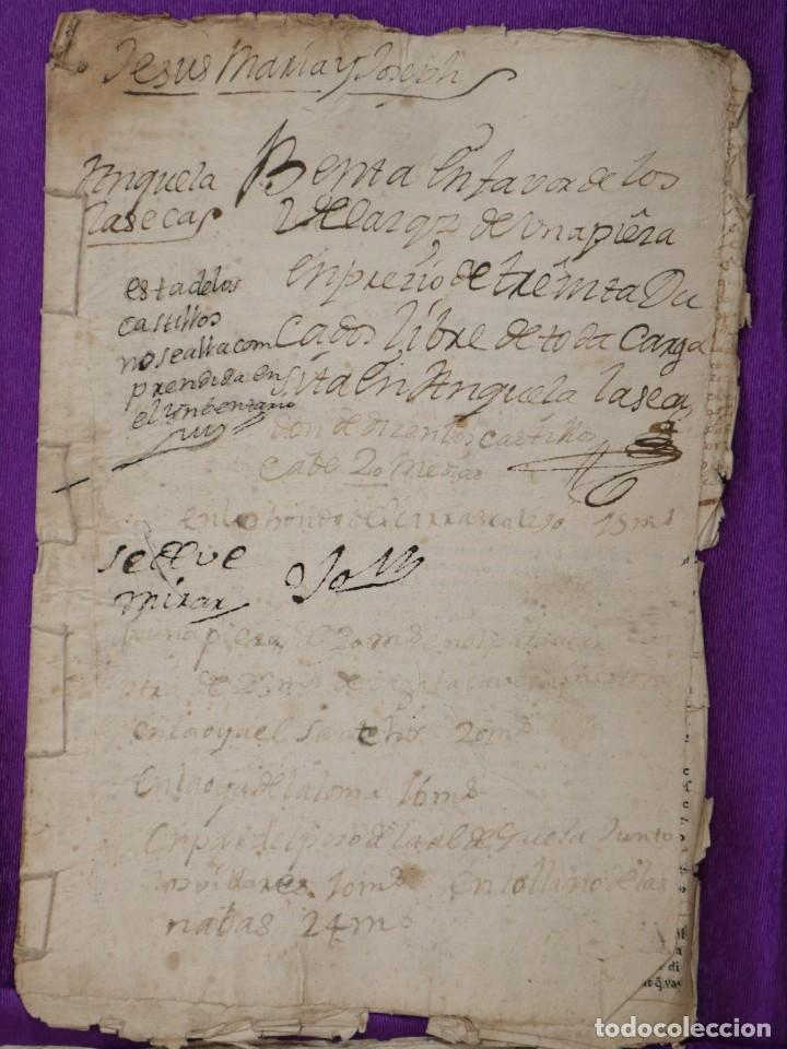 Manuscritos antiguos: Conjunto de 23 manuscritos relativos a la compra-venta de inmuebles. Siglos XVI-XIX. - Foto 30 - 244764245