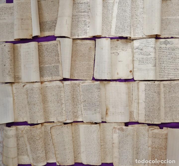 Manuscritos antiguos: Conjunto de 23 manuscritos relativos a la compra-venta de inmuebles. Siglos XVI-XIX. - Foto 31 - 244764245