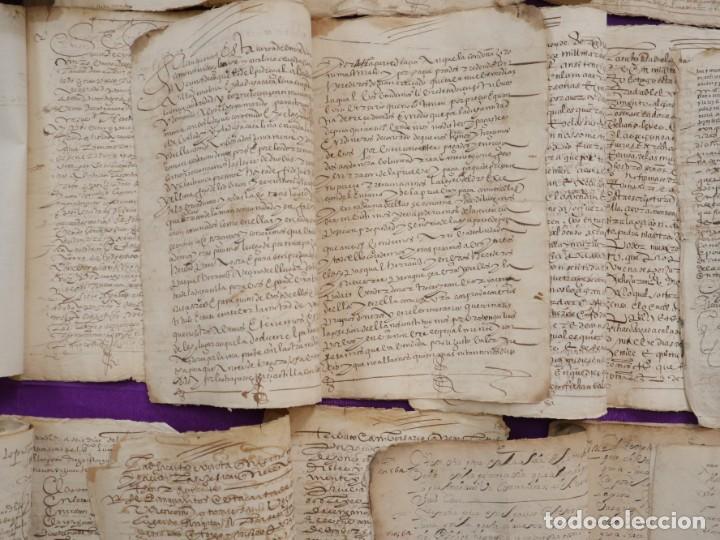 Manuscritos antiguos: Conjunto de 23 manuscritos relativos a la compra-venta de inmuebles. Siglos XVI-XIX. - Foto 33 - 244764245