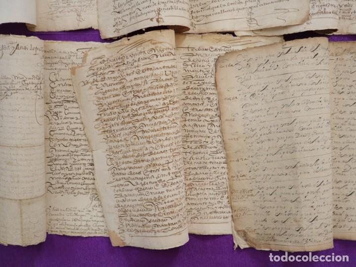 Manuscritos antiguos: Conjunto de 23 manuscritos relativos a la compra-venta de inmuebles. Siglos XVI-XIX. - Foto 34 - 244764245