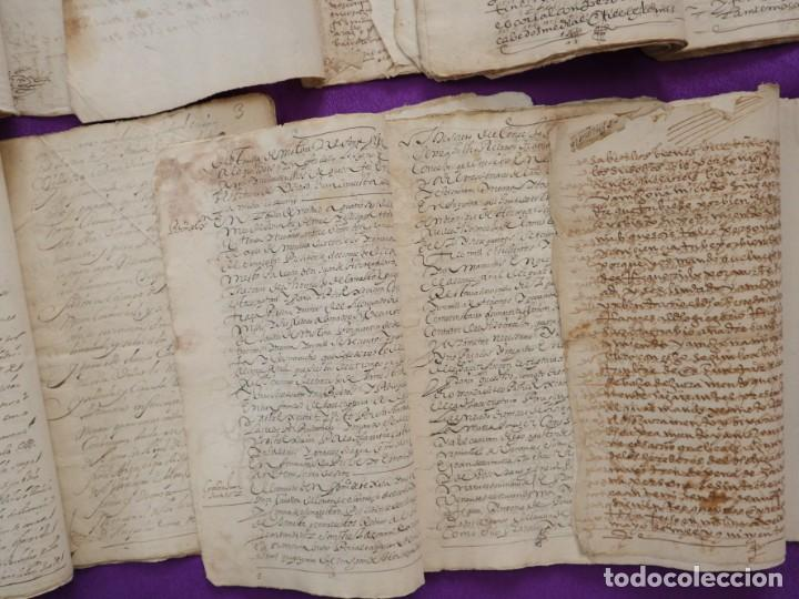 Manuscritos antiguos: Conjunto de 23 manuscritos relativos a la compra-venta de inmuebles. Siglos XVI-XIX. - Foto 35 - 244764245