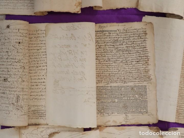 Manuscritos antiguos: Conjunto de 23 manuscritos relativos a la compra-venta de inmuebles. Siglos XVI-XIX. - Foto 36 - 244764245