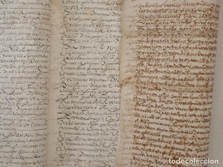 Manuscritos antiguos: Conjunto de 23 manuscritos relativos a la compra-venta de inmuebles. Siglos XVI-XIX. - Foto 39 - 244764245