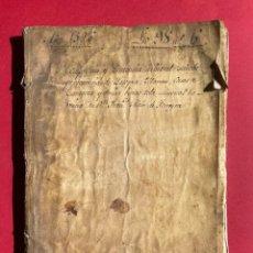 Manuscritos antiguos: 1596 - SENTENCIA SOBRE LA PERTENENCIA DE LA JOYOSA, MARRAN, CASAS DE ZARAGOZA - ARAGÓN - MANUSCRITO. Lote 245024535