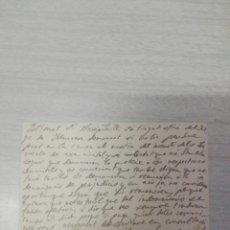 Manuscritos antiguos: CARTA DEL OBISPO DE VIC AL ARCIPRESTE DE MANRESA TEMA INCENDIO JUDGADOS INDEMNIZACIÓN AÑO 1910. Lote 245071360