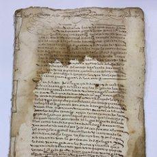 Manuscritos antiguos: GRANADA, 1574. CARTAS EJECUTORIAS DE SU MAJESTAD. VER/LEER. Lote 245193800