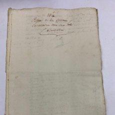 Manuscritos antiguos: JEREZ, 1814. VARIOS RECIBOS, REPARACION COCHERAS Y OBRA PUBLICA. VER/LEER. Lote 245386575