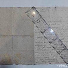 Manuscritos antiguos: CARTA DESDE MADRID. 1921. VIAJE PARA TOMAR BAÑOS EN ZARAUZ.. Lote 246744735