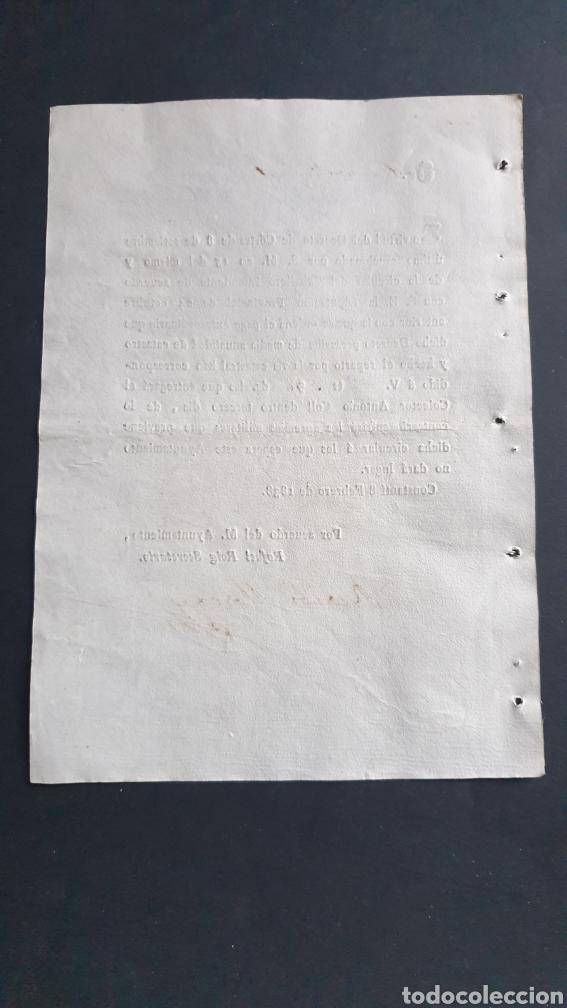 Manuscritos antiguos: Constantí 1838 siglo XIX Pago Extraordinario de lo contrario sufrirá apremios militares - Foto 2 - 248773495