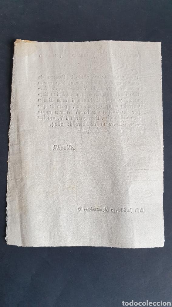 Manuscritos antiguos: Supremeto sobre a Juan Ingles SOM Captura y será conducido Reales Cárceles 1824 Cerveza Siglo XIX - Foto 2 - 249017580