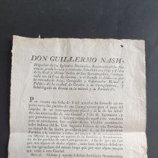Manuscritos antiguos: BANDO CERVEZA 1830 PAGO DE MI CORRESPONDENCIA OFICIAL Y DE ALCALDES CONSTITUCIONALES DE ESTA CIUDAD. Lote 249104910