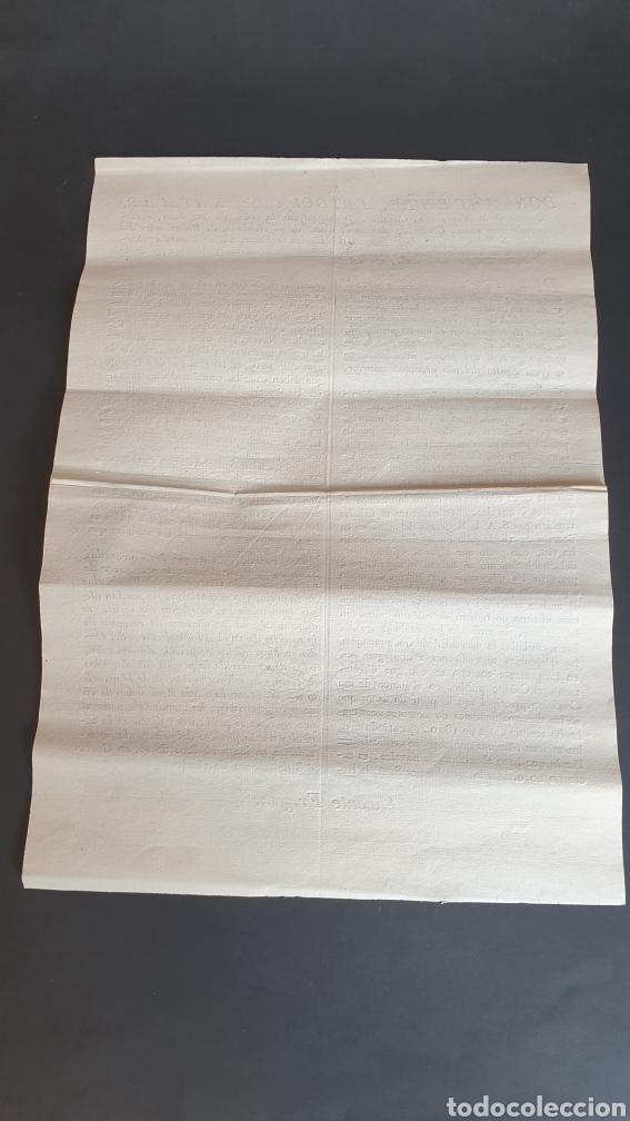 Manuscritos antiguos: Contribuyentes por diezmos de ecsentos y novales no puedan alegar ignorancia 1824 - Foto 2 - 249107625