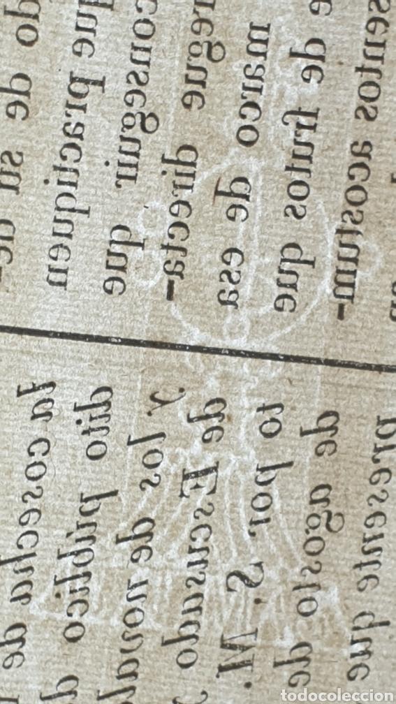 Manuscritos antiguos: Contribuyentes por diezmos de ecsentos y novales no puedan alegar ignorancia 1824 - Foto 3 - 249107625
