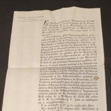 Manuscritos antiguos: PRINCIPIOS DE CONSTITUCIÓN POLÍTICA DE LA MONARQUÍA FUNCIONES JUDICIALES 1820 SIGLO XIX. Lote 249372830