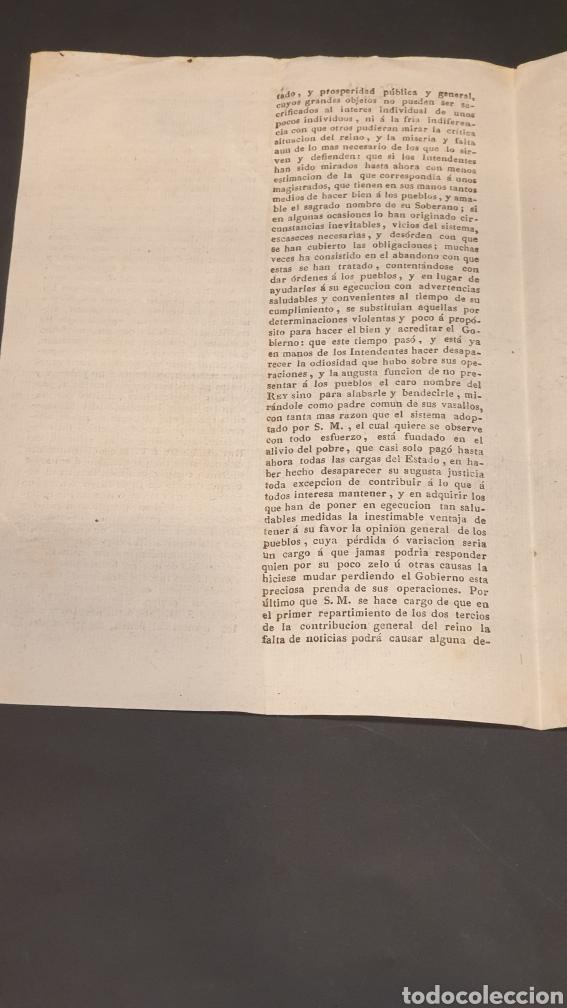 Manuscritos antiguos: Ejercito Principado de Cataluña Circular Ejecución del Sistema de Hacienda Barcelona 1817 siglo XIX - Foto 2 - 249376920